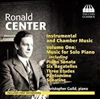 Center: Instrumental and Chamber Music, Vol. 1 - Music for Solo Piano (2013-05-03)