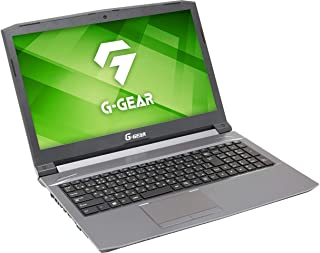 G-GEAR ゲーミングノートパソコン N1565J-500T2/AM1:/Core i5-8300H/GTX1050Ti/RAM8GB/480GB SSD/Win10