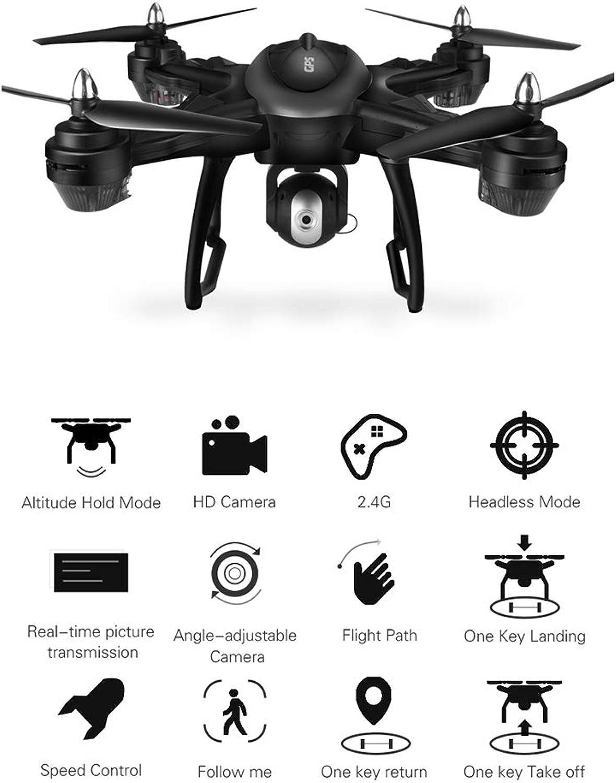 echa un vistazo a los más baratos HUIGE Drone con con con 720P HD cámara de vídeo en Vivo Resistencia Quadcopter con Pantalla LCD de 2,4 G transmisor en Tiempo Real,4K  caliente