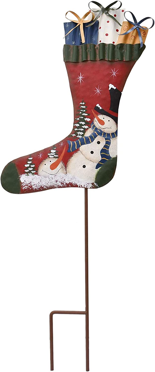 Attraction Design Complete Free Shipping Christmas Snowman Import Decor S Stake Garden