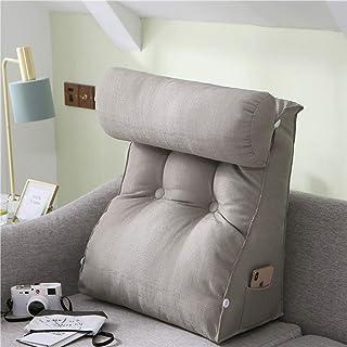Oreiller compensé avec Coussin de Support de Cou Grands oreillers de Lecture Canapé-lit Chaise de Bureau Coussin de Repos ...