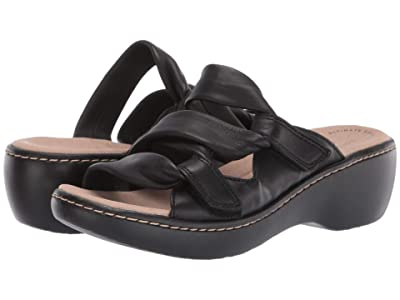 Clarks Delana Jazz (Black Leather) Women