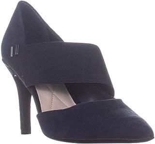 Alfani Womens Shellii Leather Pointed Toe D-Orsay Pumps