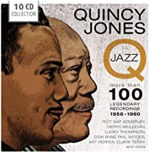 Q-Jazz: More Than 100 Legendary Recordings 1956-1960 by Quincy Jones