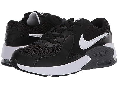 Nike Kids Air Max Excee (Little Kid) (Black/White/Dark Grey) Kid
