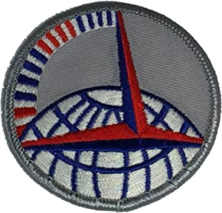US AIR FORCE AIR TRANSPORT COMMAND Patch - Color - Veteran Owned Business.