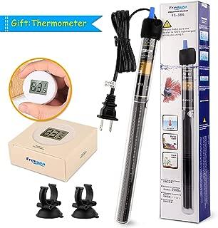 FREESEA 25-300 Watt Aquarium Heater with Aquarium Submersible Thermometer