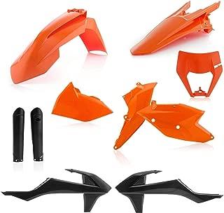 17-19 KTM 500EXCF: Acerbis Full Plastic Kit (16 ORANGE)