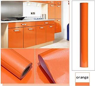 Amazon.fr : papier adhesif pour meuble cuisine - Orange