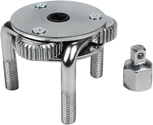 popular Adjustable discount Two Way Oil Filter Wrench lowest with 3-Jaw Removal Socket Tool LQQBS-01 (Round Jaw,3/8inch) outlet online sale