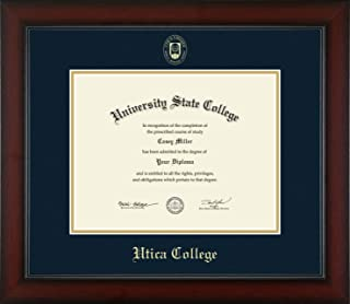 Utica College - Officially Licensed - Gold Embossed Diploma Frame - Diploma Size 11