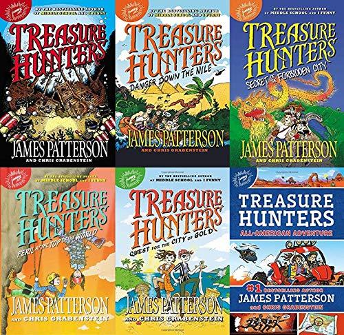 Treasure Hunters Book Set 1-6