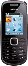 Nokia 1661 2G Prepaid Candybar Phone (Carrier Locked to Family Mobile), Black