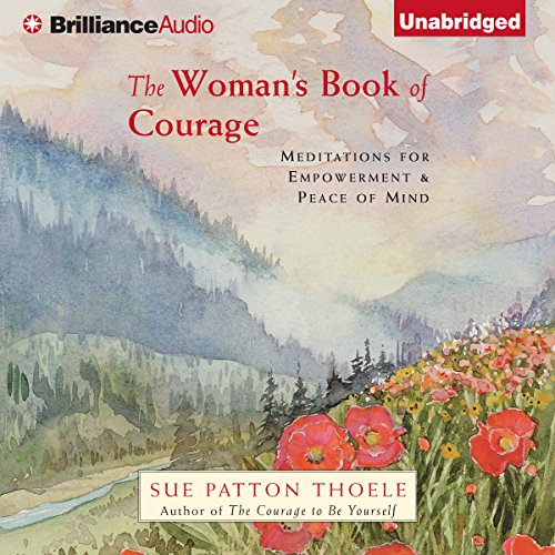 The Woman's Book of Courage audiobook cover art