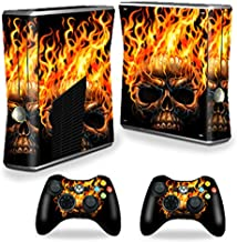 MightySkins Skin Compatible with X-Box 360 Xbox 360 S Console - Hot Head | Protective, Durable, and Unique Vinyl Decal wrap Cover | Easy to Apply, Remove, and Change Styles | Made in The USA