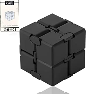 SS SHOVAN Infinity Cube Silicone Fidget Cube Toy Hand Killing Time Prime Fidget Toy Infinite Cube for ADD, ADHD, Anxiety, and Autism Adult and Children