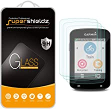 (3 Pack) Supershieldz for Garmin Edge 520, Edge 520 Plus and Edge 820 Tempered Glass Screen Protector, Anti Scratch, Bubble Free