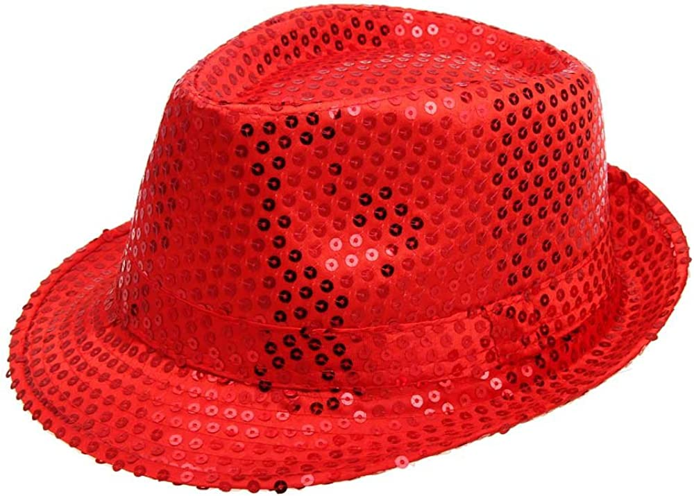 DIOMOR Unisex Classic Fashion Sequin Hat Show Mesa Mall Magic Finally popular brand Jazz Bucket