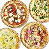 【公式】【冷凍ピザ】PIZZA SALVATORE CASA ナポリピッツァごちそうセット 4枚 (マルゲリータ、ナポリサラミとチキンのピリ辛ピッツァ、4種のチーズのピッツァ、海老とキノコのクリームピッツァ) (直径21cm×4枚) 国産小麦 手作り 窯焼き サルヴァトーレ クオモ