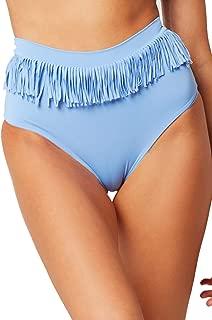 LSpace Women's Fringe Suzani Fringe High Waist Bikini Bottom