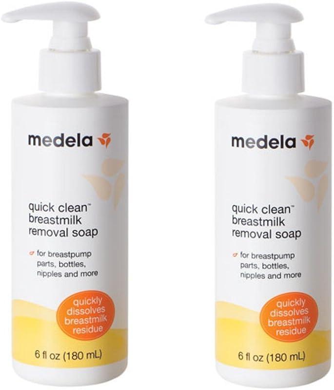 Medela Quick Clean Breastmilk Removal Soap 2 6 Ounce Bottles