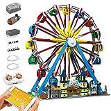 KEAYO Mould King 11006 - Juego de ruedas gigantes con luz y música, 3836 piezas grandes con bloques de sujeción, compatible con Lego