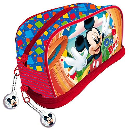 Mickey y sus amigos – Estuche escolar Disney Mickey Mouse Oh Boy.: Amazon.es: Oficina y papelería