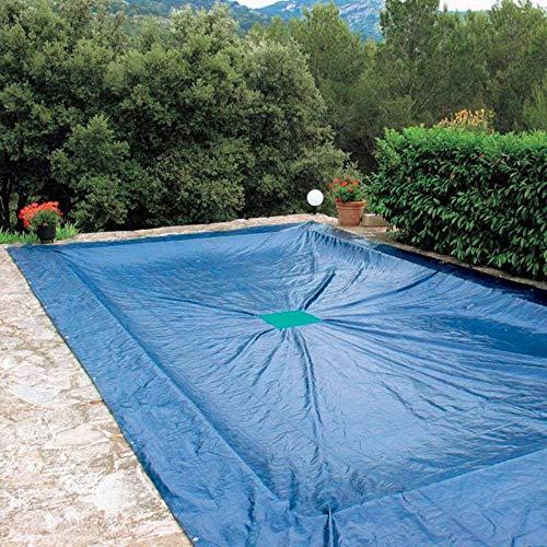 Abdeckplane 6x 10m, für Schwimmbad, rechteckig, 240g/m
