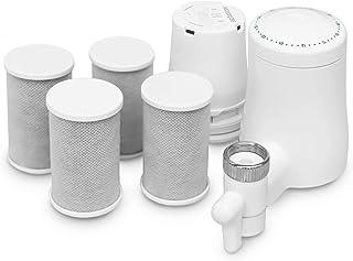 TAPP Water - TAPP 2 Twist - Jaarpakket - Duurzame kraanwaterfilter - Filtert kalk, chloor, lood, microplastics - Keukenkra...
