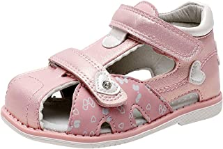 amropi Bébé Fille Bout Fermé Semelle Souple Plage Sandales Premier Marcheur Chaussures