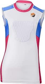 Baseball Chest Protector Shirt Youth - Heartguard Sternum Shirt. Kids Baseball Gear, Softball, Paintball and Lacrosse. Padded Compression Shirt, Chest Armor Vest, Baseball Shirt