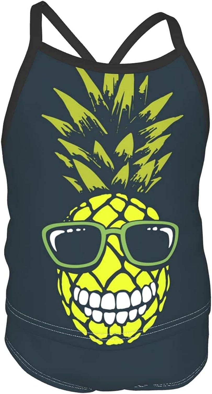 Funny Pineapple online shopping Girls' Tankini 2-Piece Swimsuit Beach Sport OFFicial site Halt