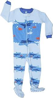Talla 6 M-5 Anos Elowel Pijama para Bebe Nino Polar con Diseno De Tiburon