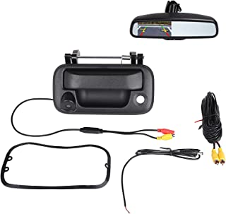 $63 » Tailgate Backup Camera Compatible with Ford F150 2004-2014, F250 F350 F450 F550 2008-2016 Tailgate Handle Reverse Backup C...