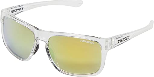 Crystal Clear Frame Smoke Yellow Lens
