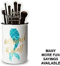 mermaid brush cup