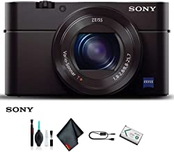 Sony Cyber-Shot DSC-RX100 III Camera DSCRX100M3/B (International Model) Starter Kit