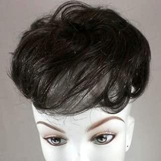 Human Hair Pull Through Wiglet (25 - Golden Blonde)