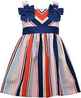 Girl's Dress - 4th of July Americana Nautical