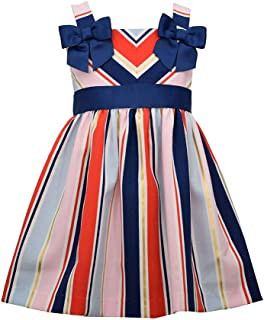 Girl's Dress - 4th of July Americana Nautical