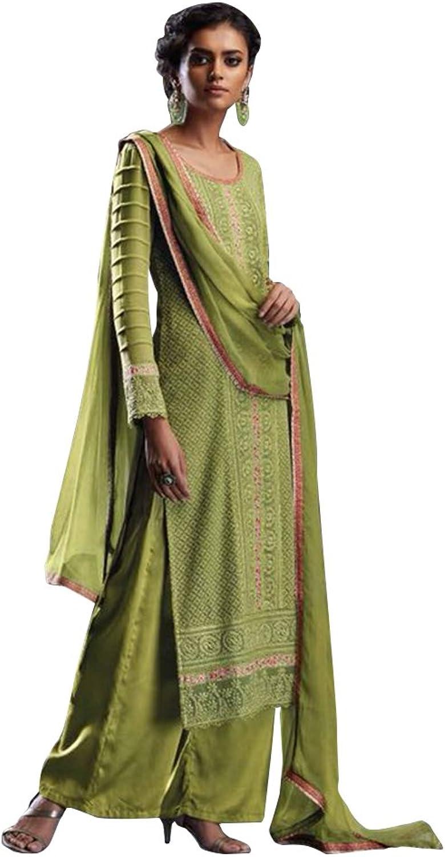 Bollywood Anarkali Dresses for women Salwar Kameez Ceremony Wedding Punjabi 752 9