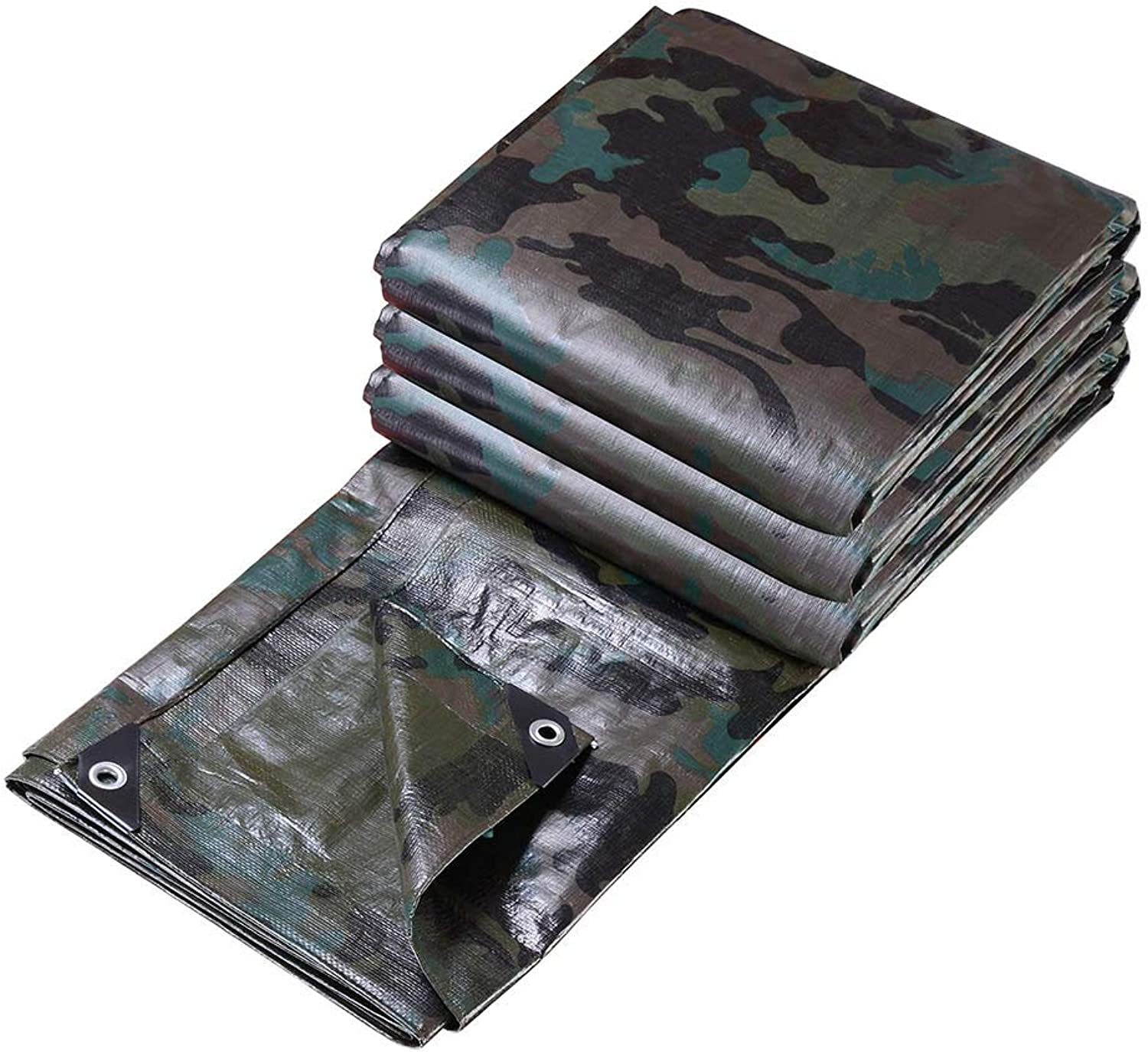 Poly Tarp Reinforced All Purpose 7 Mil Waterproof UV Resistant Cover Shelter Tarpaulin Camouflage AU Delivery