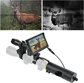 BESTSIGHT DIY Digital Night Vision Scope for riflescopes with Camera and 5