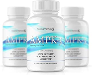Takenutritionx AMPK Activator Boost energy Promote Longevity,Weight Loss Supports metabolism 60 capsules