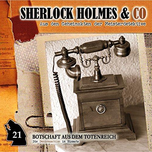 Botschaft aus dem Totenreich audiobook cover art