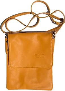LaGaksta Ashley Very Small Italian Leather Crossbody Travel Shoulder Bag