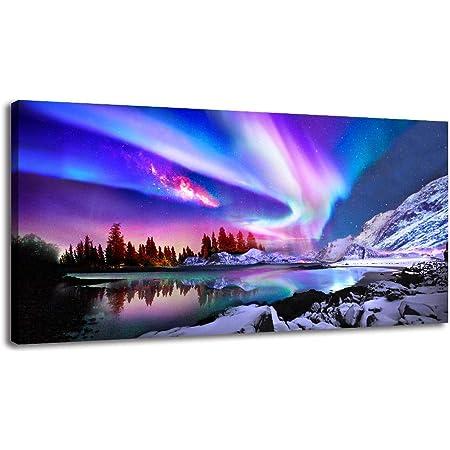 Living Room Wall Art PEI Wall Decor charlottetown PEI Prints 13x19 Northern Lights visit Prince Edward Island Aurora borealis
