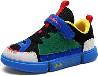 [チャンピオン靴店] 女の子の男の子のための子供の靴子供の白い靴子供のスニーカーPUレザースポーツランニングスニーカー
