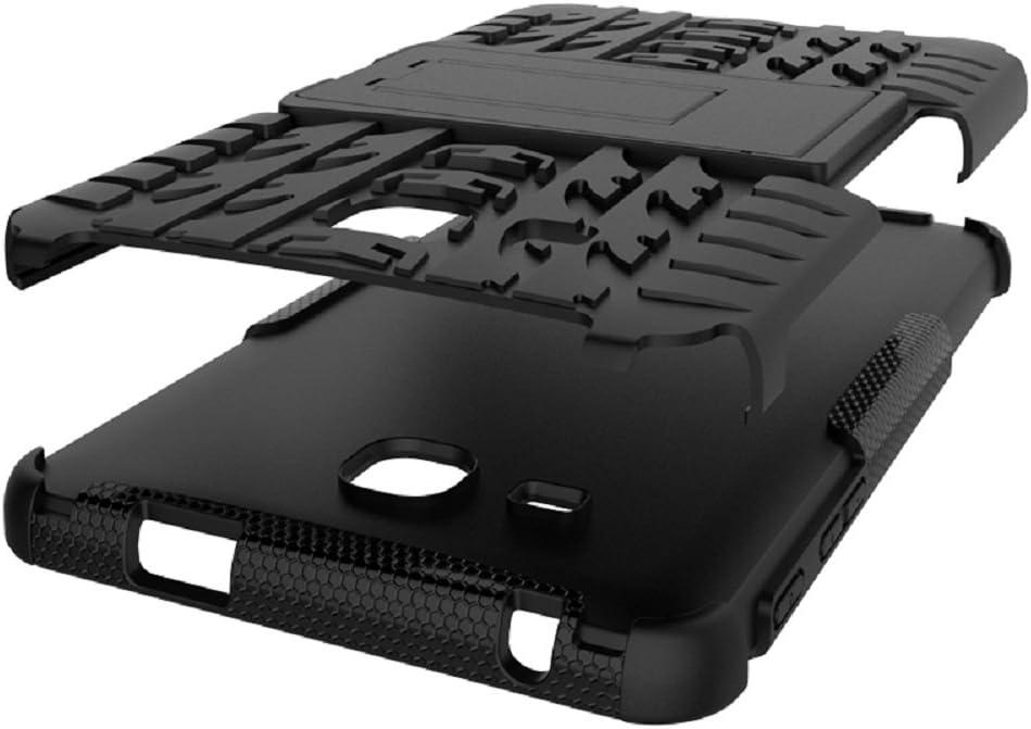 Model:SM-T280//T285 Maomi for Samsung Galaxy Tab A 7.0 Case 2016 Release ,Kickstand Heavy Duty Armor Defender Case Blue