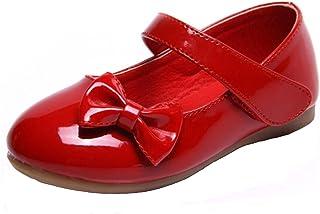 PPXID Fille Princesse Chaussure Flat Mary Janes(Petit Enfant Bébé)